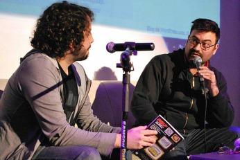 Fernando Calvi, ilustrador de PALP #2, entrevistado por Javier Mattio, uno de los autores de la revista.